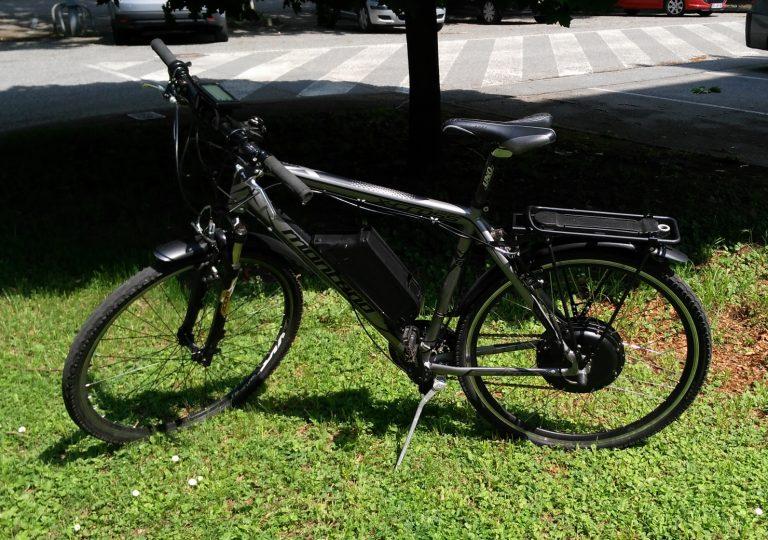 Conversion Vélo électrique champagnier